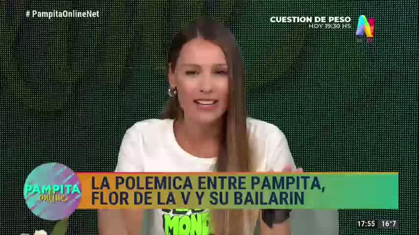Pampita contestó a la polémica