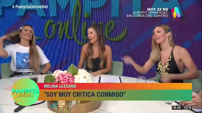 Pampita Online-Marina Lezcano y su padre-12/08/19