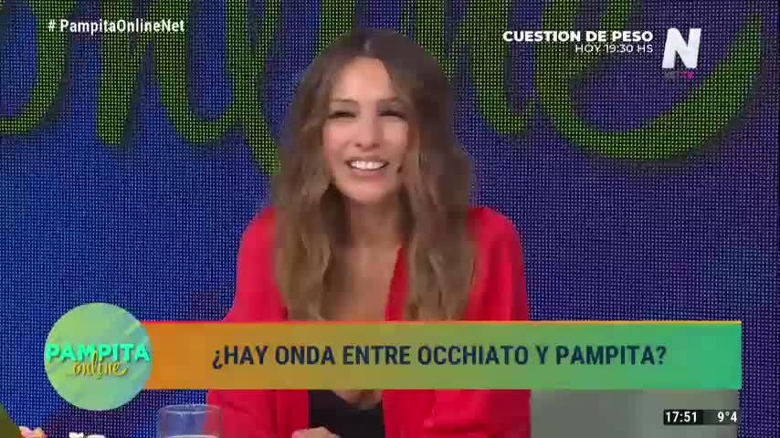 Pampita habló con Nico Occhiato sobre el supuesto romance