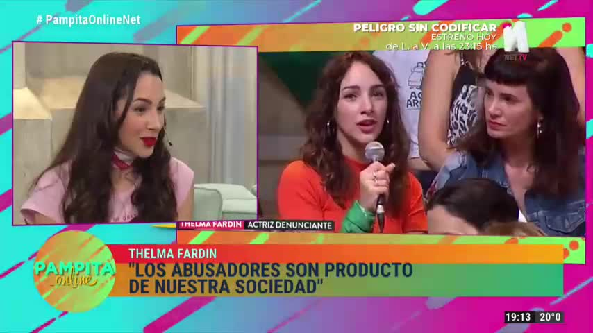 Thelma Fardín habló sobre el proceso judicial