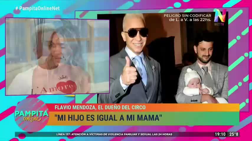 Flavio Mendoza dijo que quiere tener otro hijo