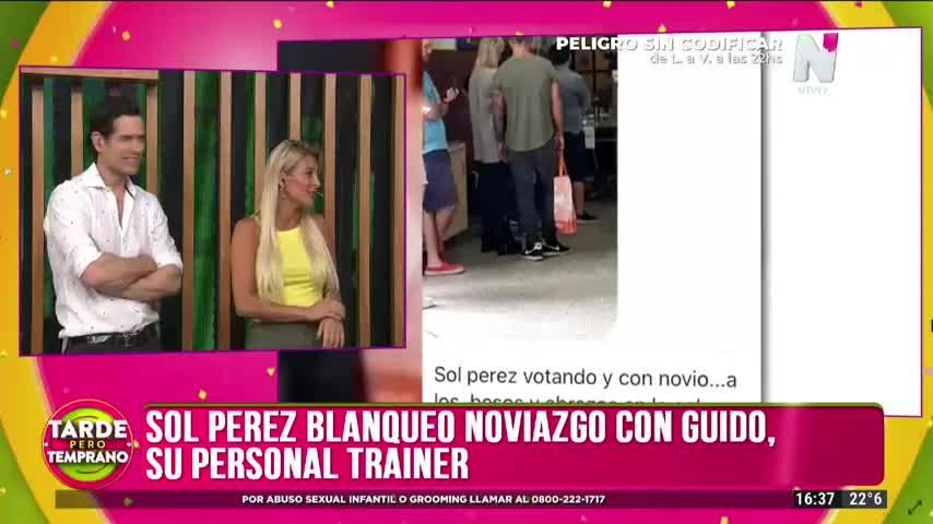 """Sol Pérez, de novia con su personal trainer: \""""Yo me casaría ya\"""""""