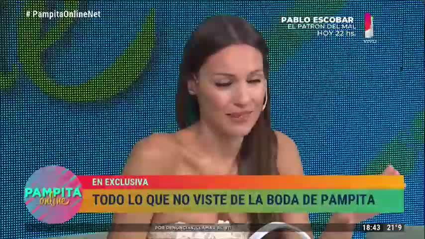 Pampita confiesa que le pidió a su hija un compañero