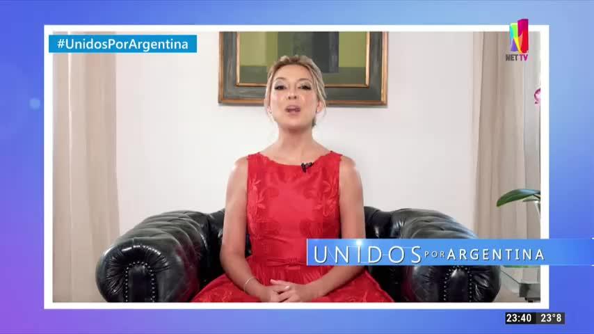 Fabiola Yáñez en Unidos por Argentina