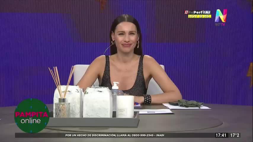 Pampita cuenta cómo conoció a Alejandro Sanz