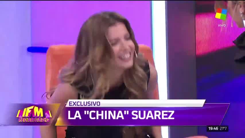 La China Suárez habló de la muerte de su padre