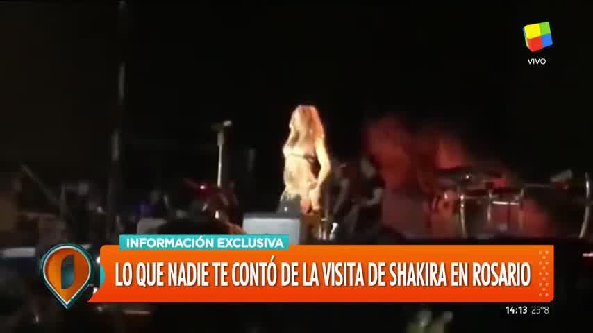 Shakira, a punto cancelar su show en Rosario