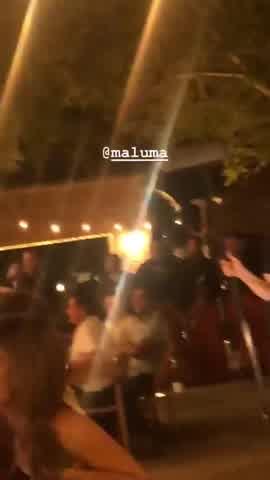 Maluma saludó al Diez por su cumpleaños