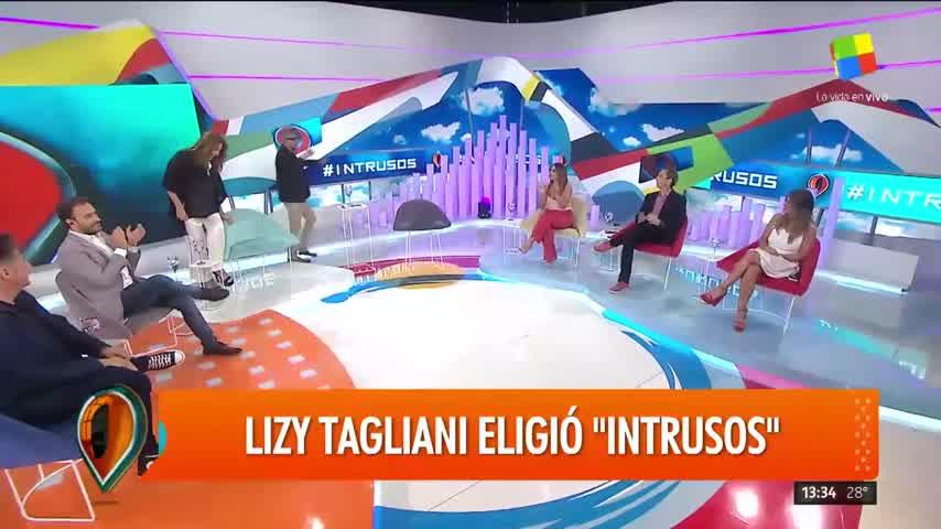 """Lizy Tagliani en Intrusos: \""""Hace poco me enteré que tengo una hermana\"""""""