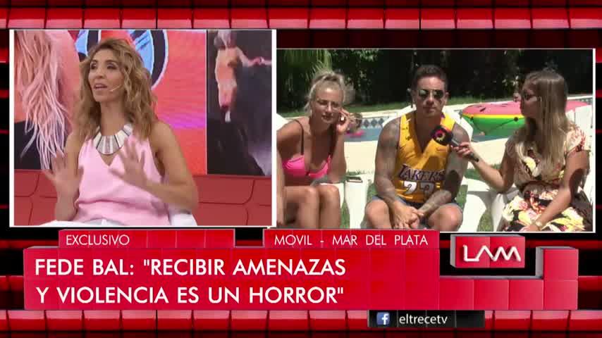 Fede Bal reconoció que tal vez no cuido bien a Laurita Fernández