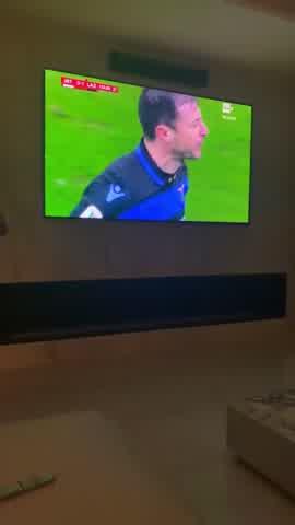 Valentino López, devastado por la derrota del Inter