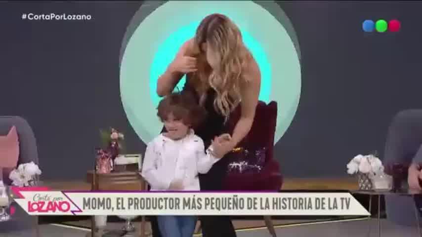 Jimena Barón debutó en Cortá por Lozano