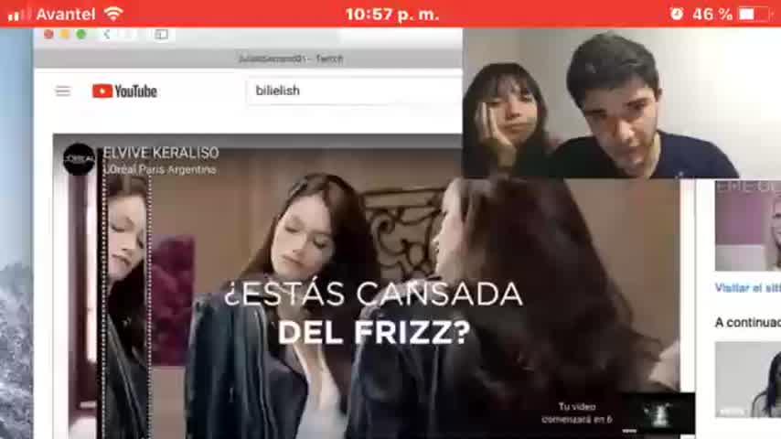 Desopilante. Malena Narvay y Julian Serrano se cruzaron con Oriana Sabatini