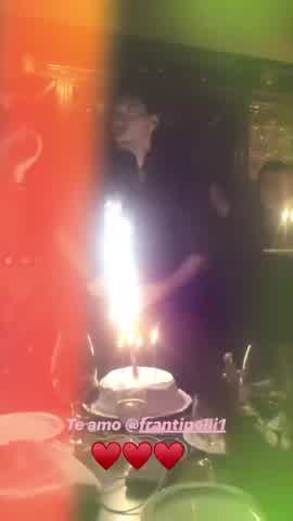 Cumpleaños de Fran Tinelli