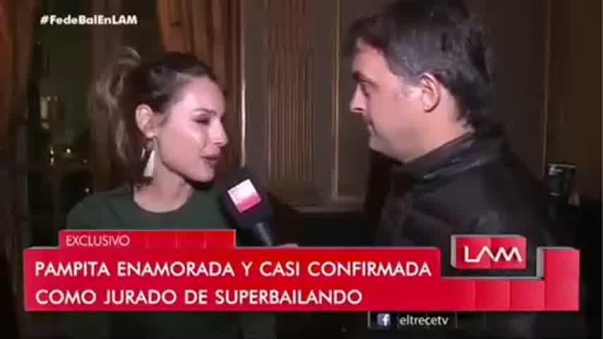 Pampita habló de Pico Mónaco