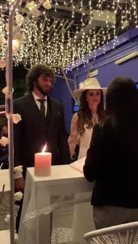 Se casó Paz Cornú