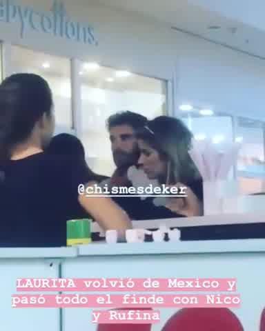 El fin de semana de Laurita Fernández, Nico Cabré y Rufina