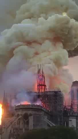 Incendio catedral de Notre Dame