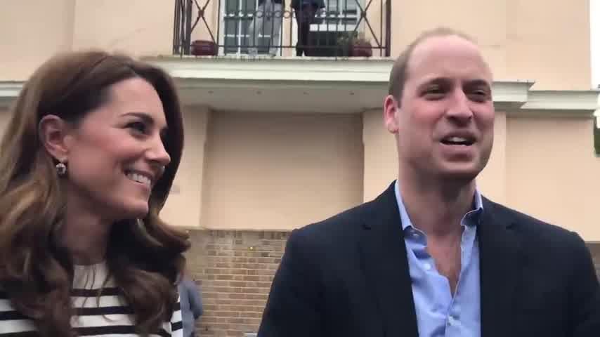 Kate Middleton y el príncipe Guillermo no conocieron al hijo de Harry y Meghan Markle