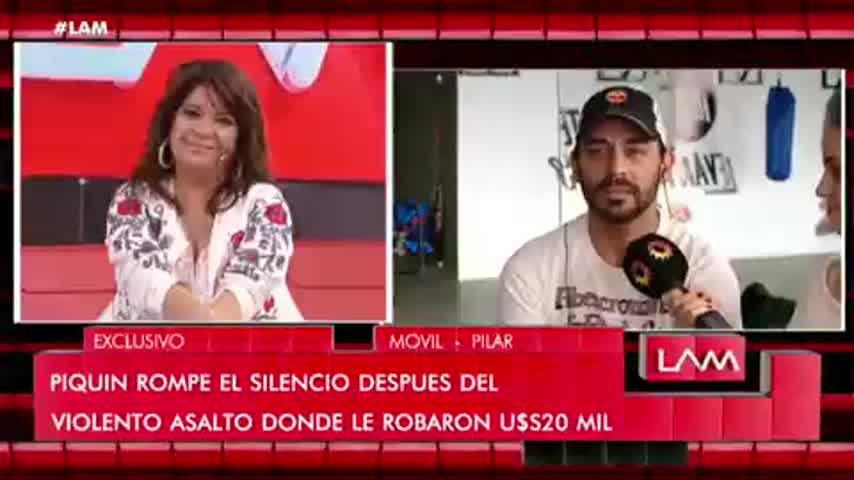 Hernán Piquín anunció que no vive en Argentina.
