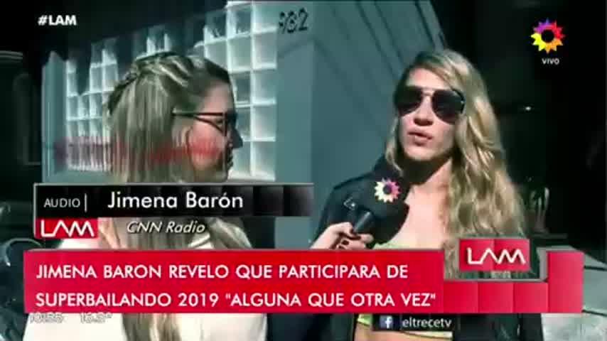Jimena Barón se suma al Bailando