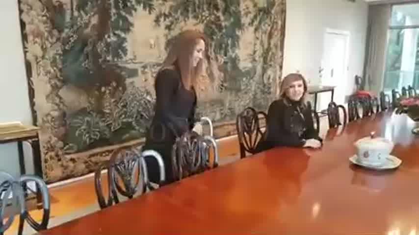 Vanesa de Noble Herrera mostró su casa en una entrevista con Myriam Bunin