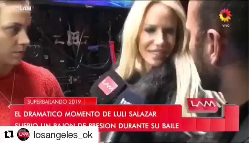 Luli desmayo