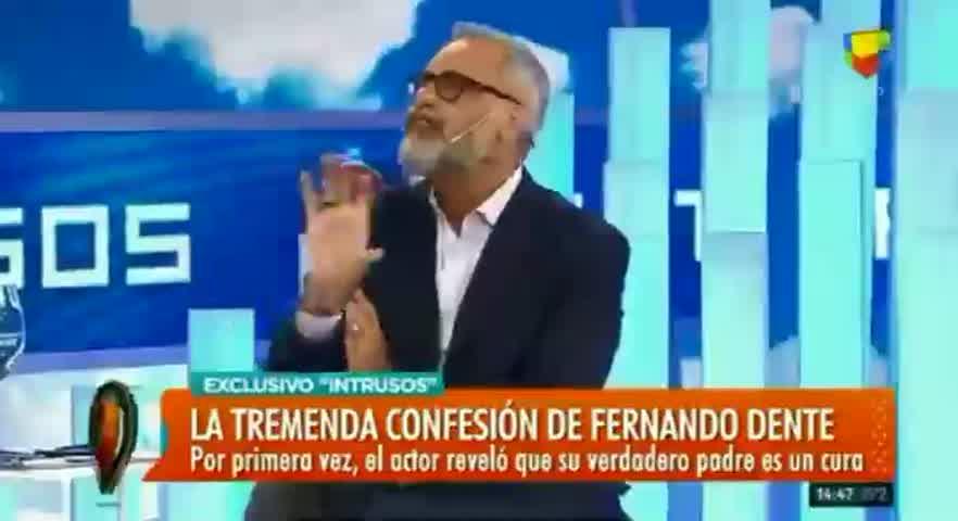 Fernando Dente en Intrusos