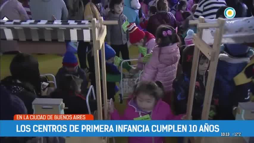 Los centros de primera infancia cumplen 10 años
