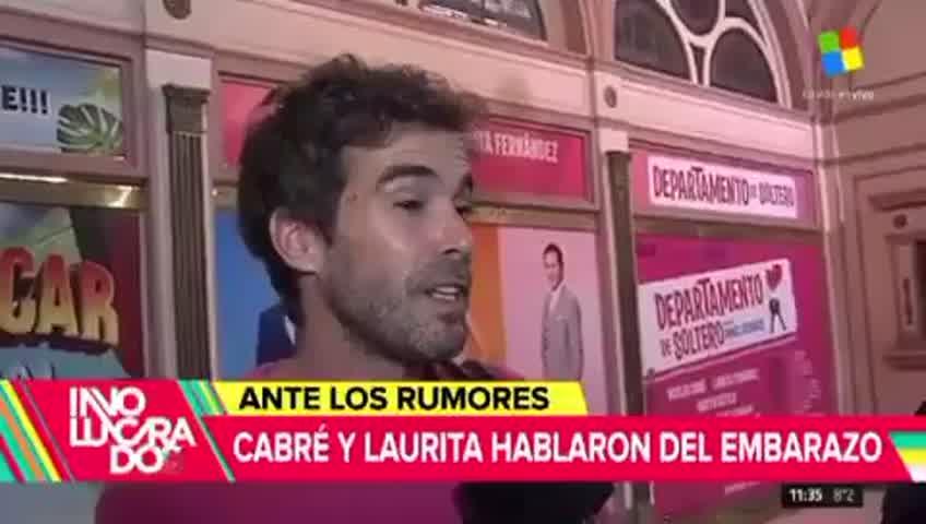 Nico Cabré habló de los rumores de embarazo de Laurita Fernandez