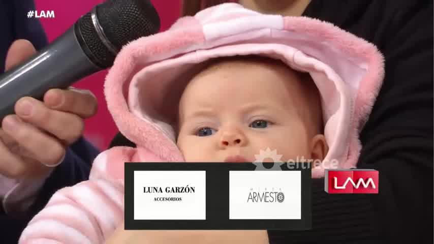 Mariana Brey presentó a su hija Juanita