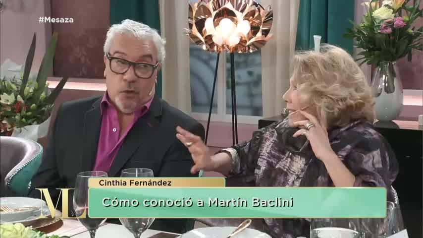 La reacción de Cinthia Fernández cuando Coco Sily salió en defensa de Matías Defederico