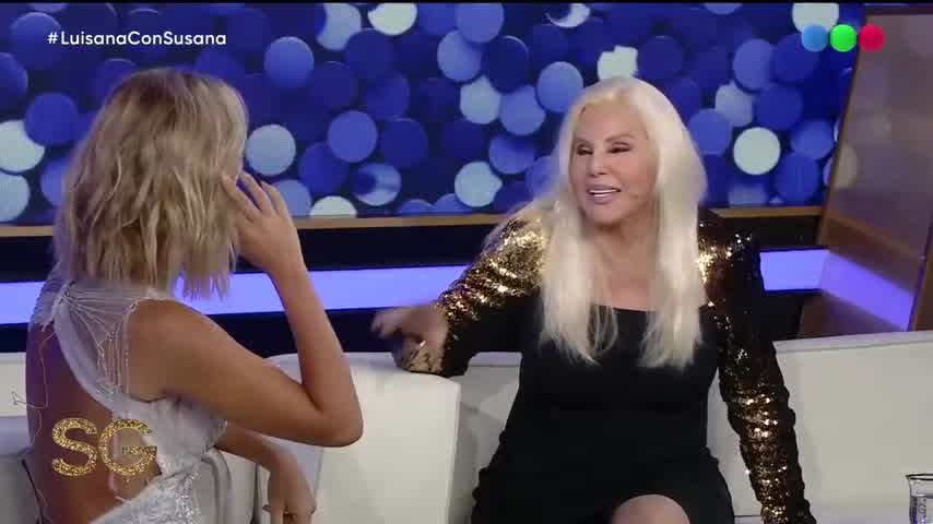 ¿Por qué Luisana Lopilato se levanta a las 6am? - Susana Giménez 2019