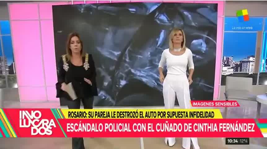 Escándalo policial con el cuñado de Cinthia Fernández