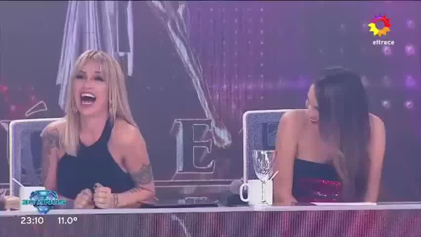 El Polaco, Barby Silenzi y Noelia Marzol