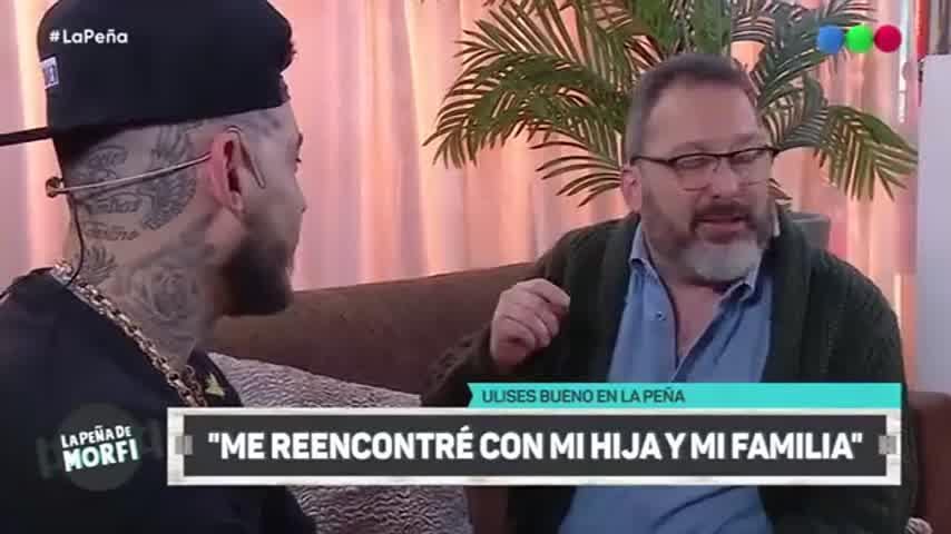 Ulises Bueno Hablando De Sus Adicciones Y Su Recuperacion - Morfi Telefe