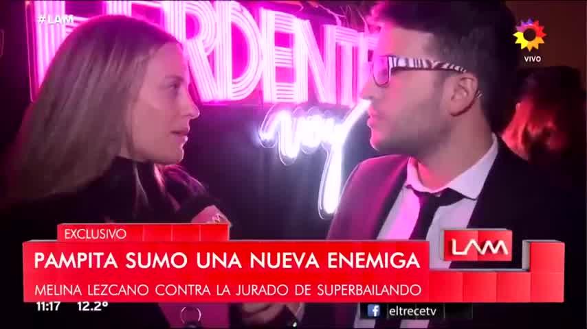 Melina Lezcano contra Pampita