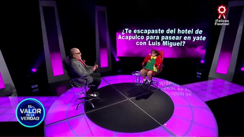 La Chilindrina: ¿Escapaste del hotel de Acapulco en el yate de Luis Miguel? - El valor de la verdad