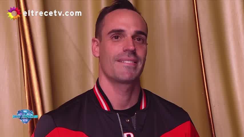Robert, el novio de Charlotte Caniggia, cara a cara con Marcelo Tinelli