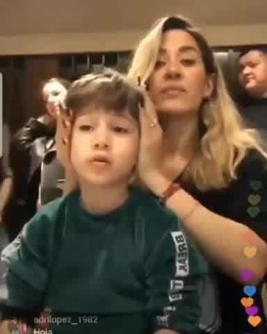 La tremenda pregunta del hijo de Jimena Barón al escuchar su nuevo tema