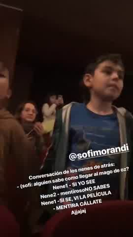Tras los rumores, Malena Narvay y Julián Serrano fueron a ver a Sofi Morando al teatro3