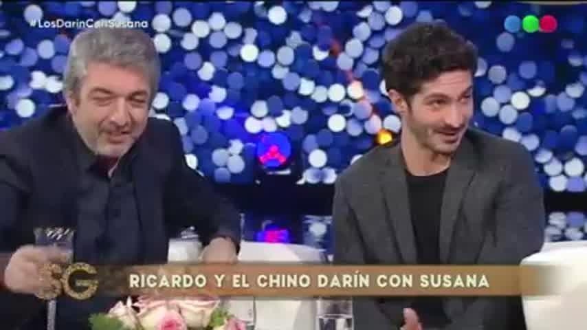 Los Darín con Susana