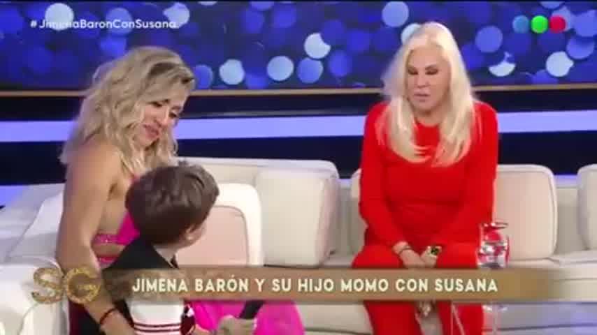 Jimena Barón con Susana