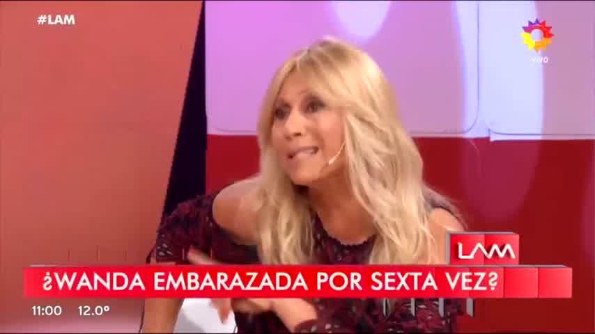 Ana Rosenfeld negó el embarazo de Wanda