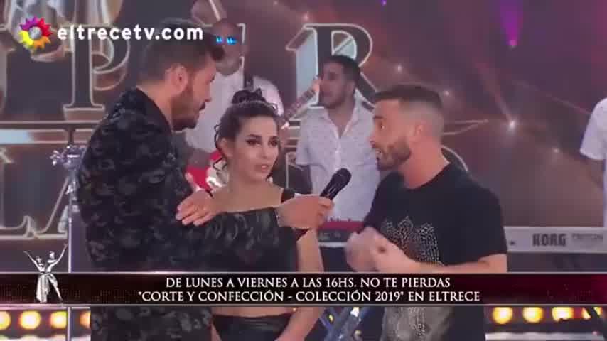 Ulises Bueno le puso ritmo al Bailando en medio de la polémica entre Cinthia Fernández y su novio 2