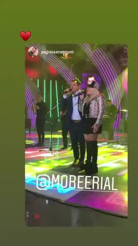 Morena Rial en Pasión de sabado