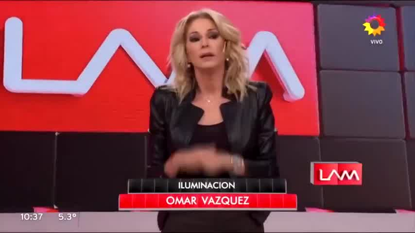 Yanina Latorre reemplazó a Angel de Brito