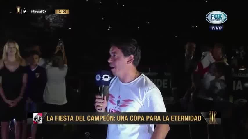 Marcelo Gallardo en la Fiesta del Más Gr4nde