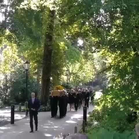 Funeral Cristina