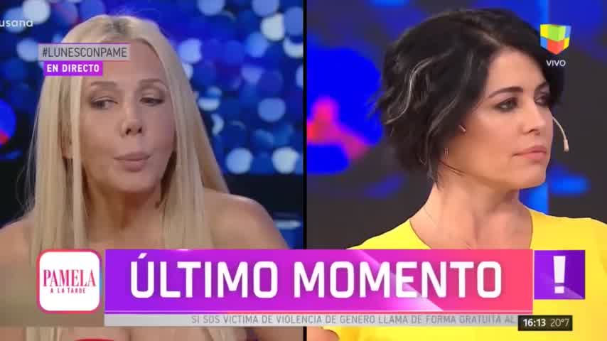 """Susana: \""""Le aconsejé (a Nannis) irse lejos\""""  - Pamela a la Tarde (26/08/2019)"""